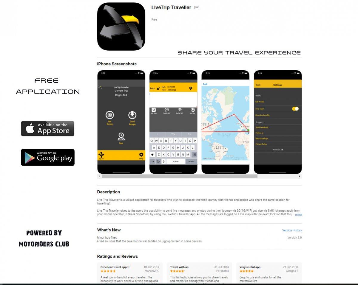 Download Apps | LIVE TRIP TRAVELER