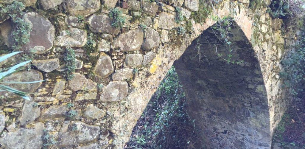 Γεφύρι Λαγουδερών ή Ξυλιάτου. Ένωνε τα χωριά της Πιτσιλιάς από της βουνοπλαγ ...