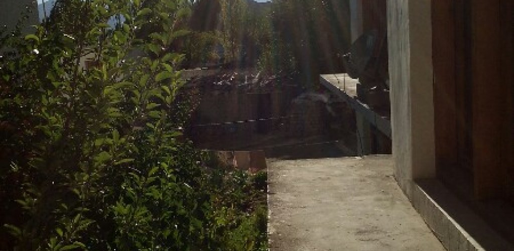 At juniper guesthouse in Leh.  Acclimatized, feeling good today.  Maybe I wi ...