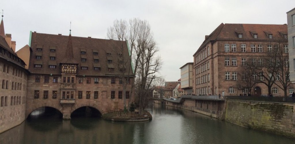 Exploring Nuremberg, the second largest city of Bavaria, after Munich. Hitle ...