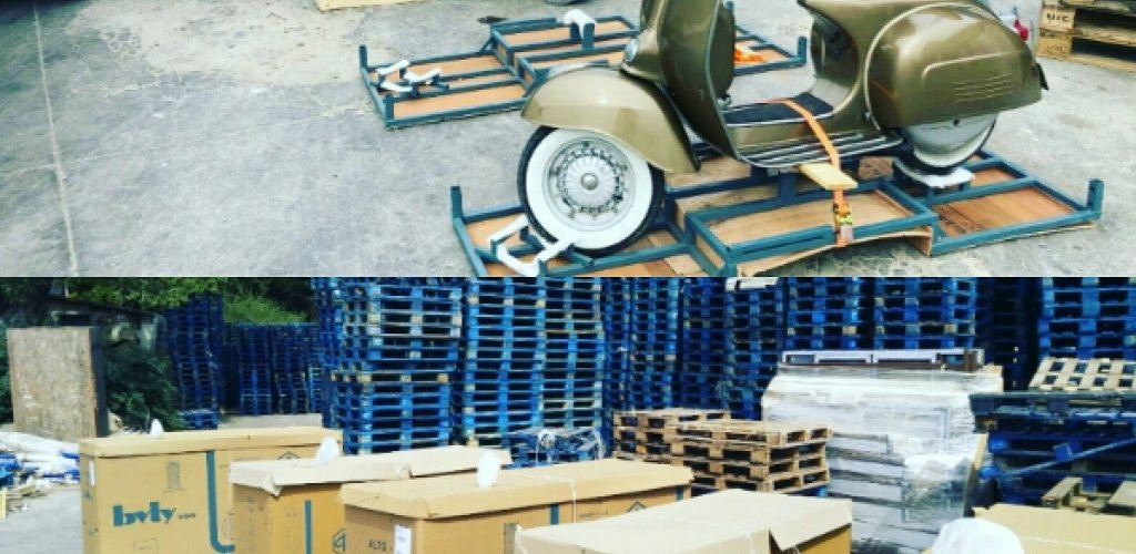 preparations have done. Vespas boxed and will be sent at Verona. we ll fligh ...
