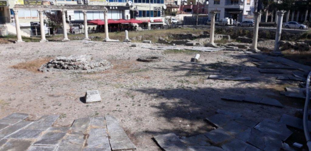 Αρχαία Αγορά στο Δυρραχιο